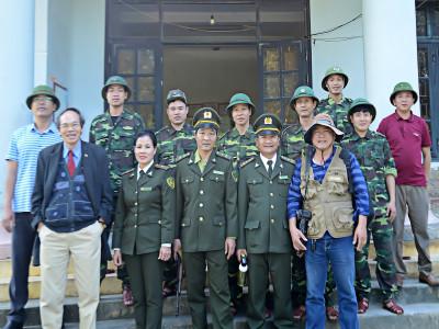 Ghi nhận công tác bảo vệ rừng phòng hộ của huyện Tuyên Hóa và Thành phố Đồng Hởi