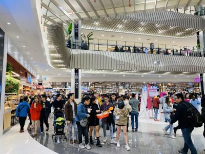 Trung tâm thương mại lớn nhất của AEON tại Việt Nam tích hợp những thiết bị điện tử và công nghệ  4.