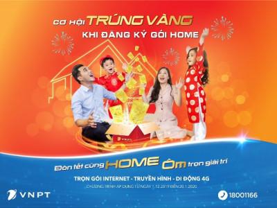 Đăng ký Internet, truyền hình VNPT trúng ngay vàng SJC 9999
