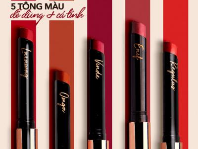 Ra mắt dòng son mới Lustre Ultra Slim Matte Lipstick