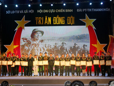 Tri ân đồng đội – Một nghĩa cử cao đẹp của doanh nhân Cựu chiến binh tỉnh Thanh Hóa