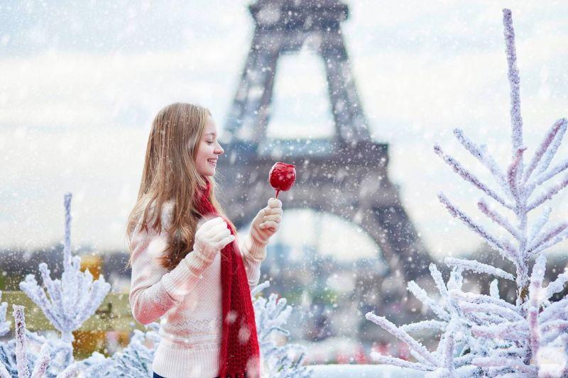 Tuyết phủ như xứ sở thần tiên ở châu Âu