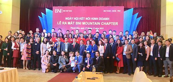 BNI ra mắt Chapter thứ 3 tại Thanh Hóa