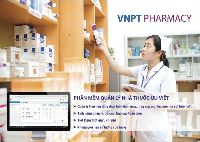 VNPT Pharmacy- phần mềm quản lý thuốc thông minh