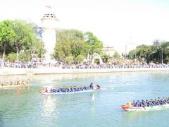 Lễ hội đua thuyền mừng Đảng, mừng Xuân Canh Tý trên sông Cà Ty (Phan Thiết)