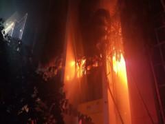 Cháy lớn ở Tòa nhà Dầu khí Thanh Hóa: 2 nạn nhân đã tử vong