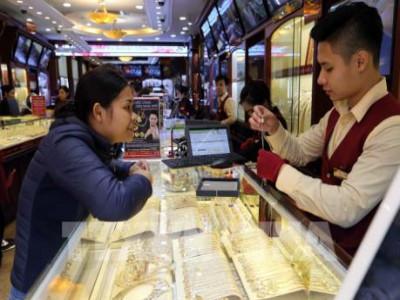 Thị trường vàng trong nước trầm lắng