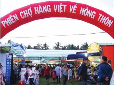 Hàng Việt chiếm ưu thế thị trường Tết