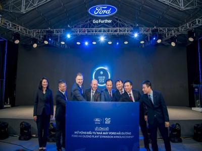 Ford Việt Nam công bố gói 82 triệu USD đầu tư mở rộng Nhà máy  lắp ráp Hải Dương