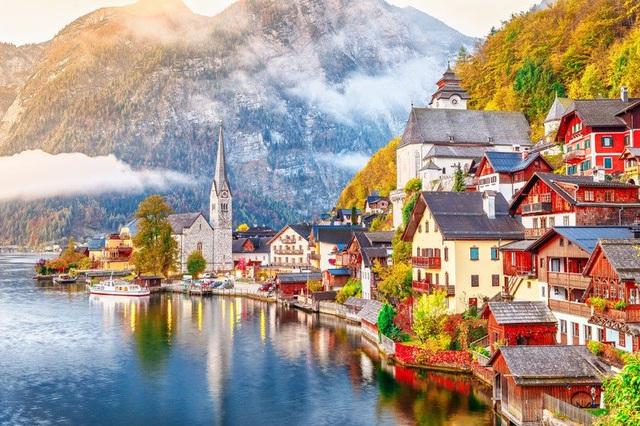 Ngôi làng đẹp nhất thế giới