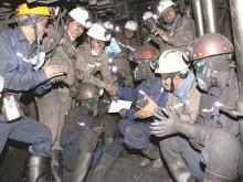 Công nhân ngành than thi đua lao động sản xuất đầu xuân