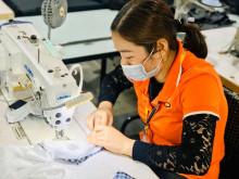 Doanh nghiệp trong nước tăng cường sản xuất khẩu trang phòng dịch virus corona