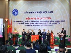 Thủ tướng Chính phủ trao tặng Cờ Thi đua của Chính phủ cho BHXH Việt Nam