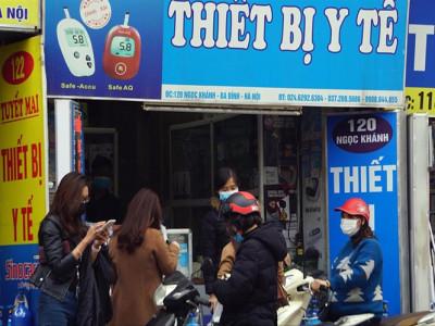Công an Hà Nội xử lý cơ sở tăng giá khẩu trang