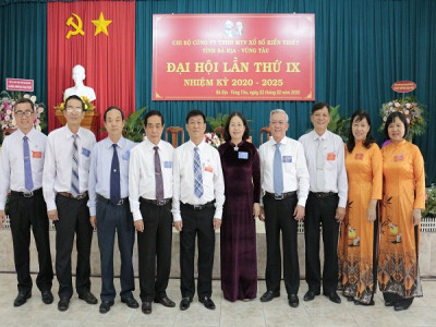 Chi bộ Công ty Xổ số kiến thiết tỉnh Bà Rịa – Vũng Tàu: Tổ chức thành công Đại hội điểm cấp cơ sở