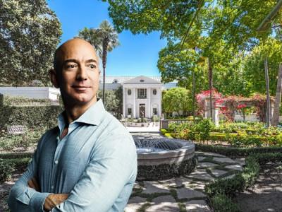 Ông chủ Amazon tậu biệt thự 165 triệu USD