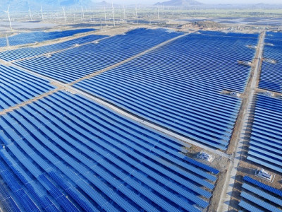 Tập đoàn Xuân Thiện hòa lưới điện Nhà máy Điện mặt trời tổng công suất 256 MWp tại Ninh Thuận
