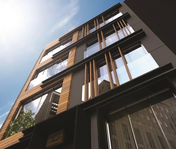 Công nghệ STF giúp tạo ra bề mặt gỗ trên vật liệu kim loại