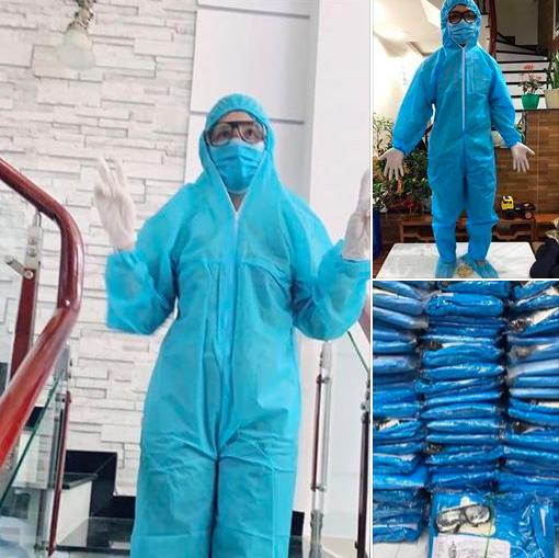 Cảnh báo quần áo chống dịch không chống được dịch, bán tràn lan trên thị trường