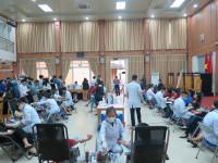 """Công đoàn  BHXH Việt Nam tổ chức chương trình  tình nguyện """"Hiến máu an toàn -  - đừng ngại Covid"""