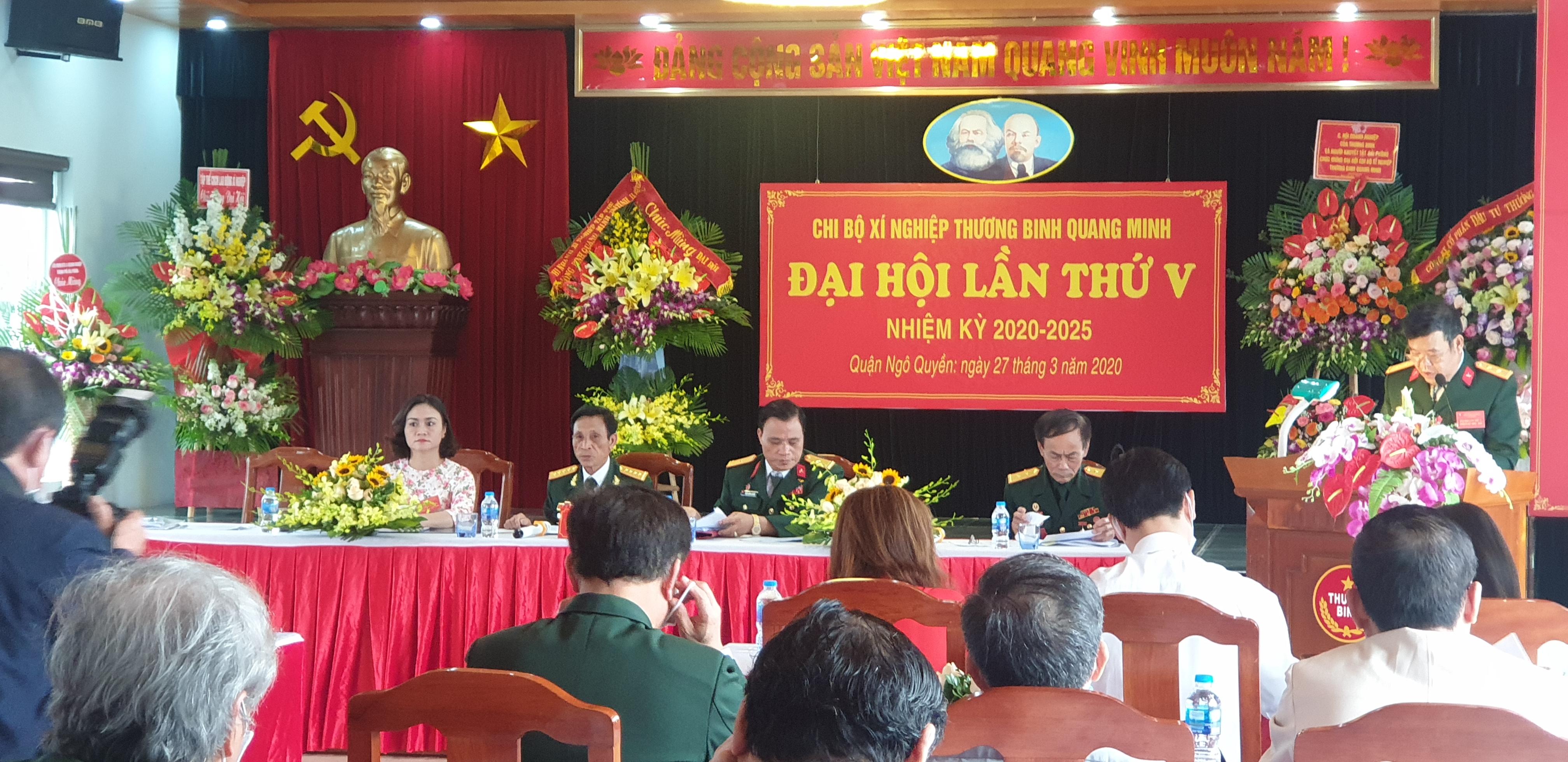 Chi bộ Quang Minh: Đại hội Đảng thành công nhiệm kỳ 2020-2025