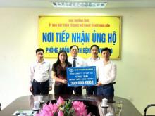 Doanh nghiệp, doanh nhân tỉnh Thanh Hóa chung tay cùng cộng đồng phòng chống đại dịch Covid-19