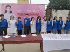 Mỹ phẩm Li'Chy tặng gel rửa tay sát khuẩn phòng dịch bệnh tại nhiều tỉnh thành