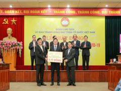 Tập đoàn Hưng Thịnh ủng hộ 5 tỷ đồng cho công tác phòng chống dịch Covid-19