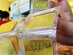 Giá vàng vọt tăng, khi đồng USD đi xuống mất hơn 1% trong giỏ thanh toán