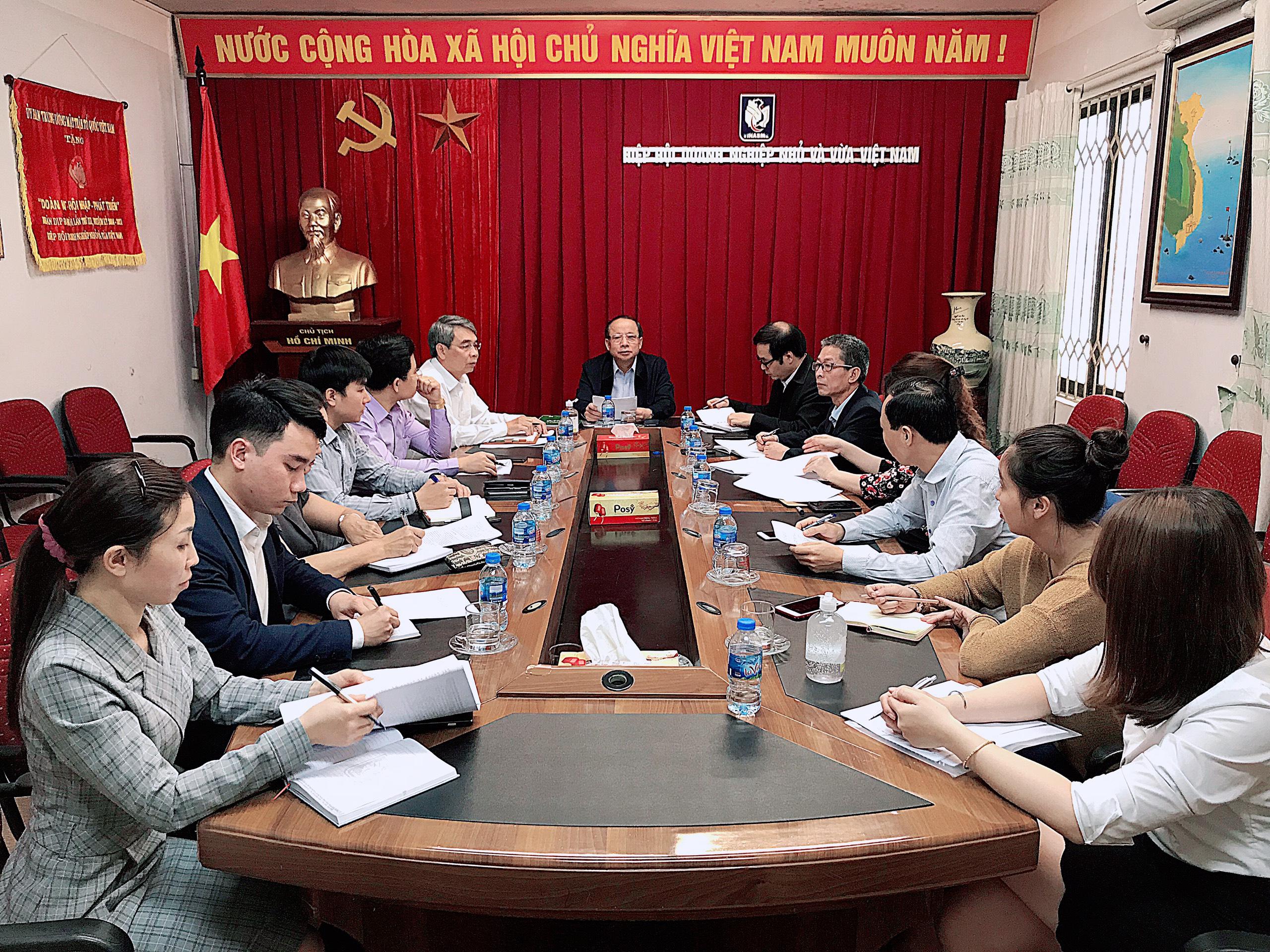 Vinasme thực hiện Chỉ thị của Thủ tướng Chính phủ tháo gỡ khó khăn cho doanh nghiệp trước Covid-19