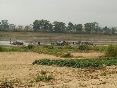 Huyện Vĩnh Lộc - Thanh Hóa:  Doanh nghiệp khai thác cát trái phép, chính quyền buông lỏng quản lý?