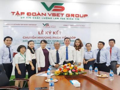 Vsetgroup mua cổ phần công ty TNHH Ô tô Thống phát, phát triển hệ thống bảo dưỡng, sửa chữa
