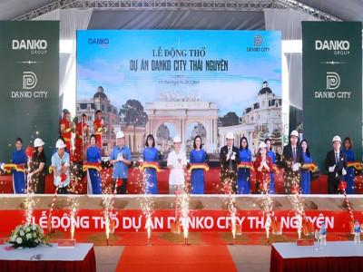 Danko City Thái Nguyên: Chủ đầu tư mời Chủ tịch tỉnh tham dự động thổ dự án chưa được cấp phép XD