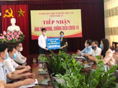 Tập đoàn T&T Group ủng hộ Nghệ An 5 tỷ để phòng, chống dịch Covid - 19