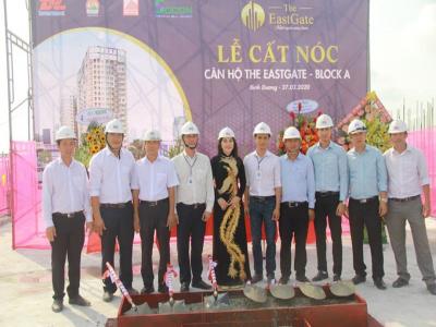 Kim Oanh khởi động dự án 48,9 ha và cất nóc căn hộ The EastGate