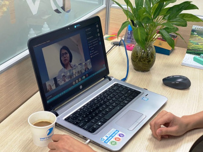 Tiết kiệm chi phí khi làm việc online cùng V-Com của VNPT