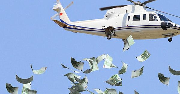 """WEF: Các nhà kinh tế học hàng đầu khuyên các chính phủ nên thực thi chính sách """"tiền trực thăng"""""""