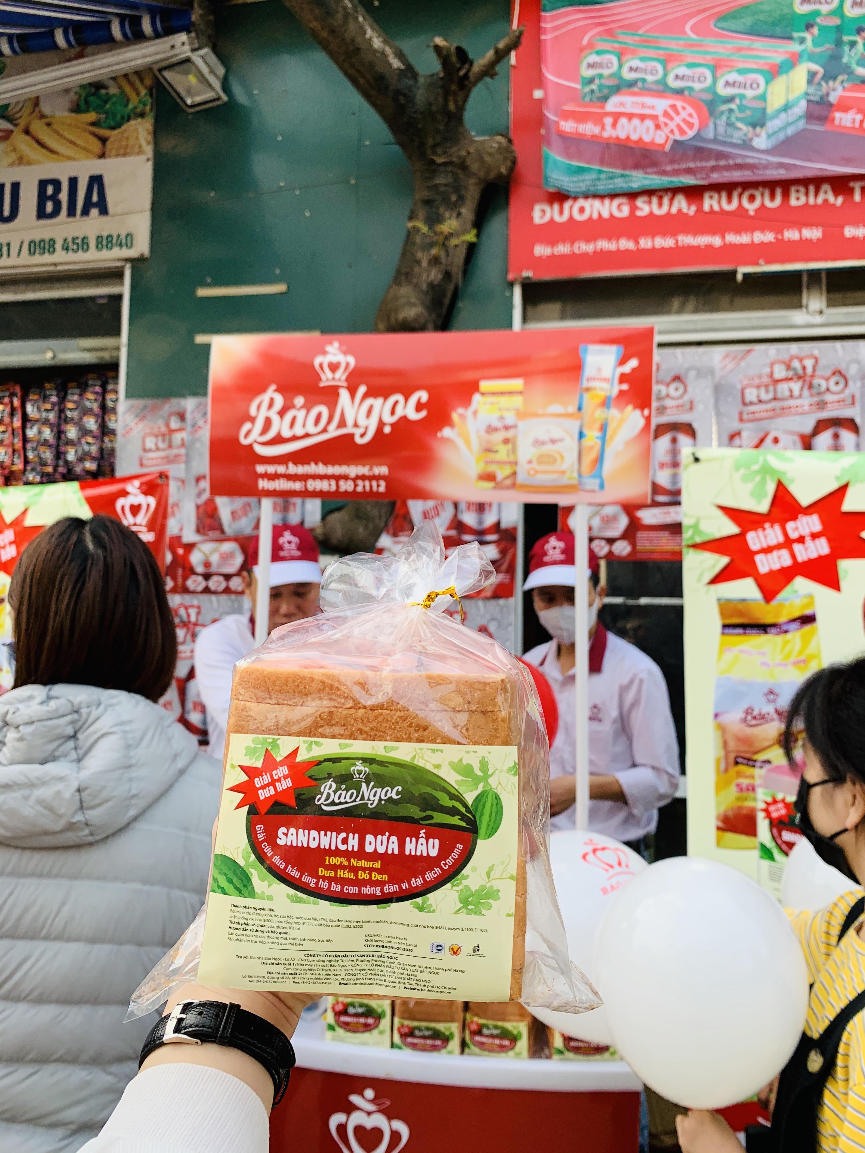 Bánh Sandwich dưa hấu và chuyện sáng tạo kinh doanh mùa dịch COVID-19