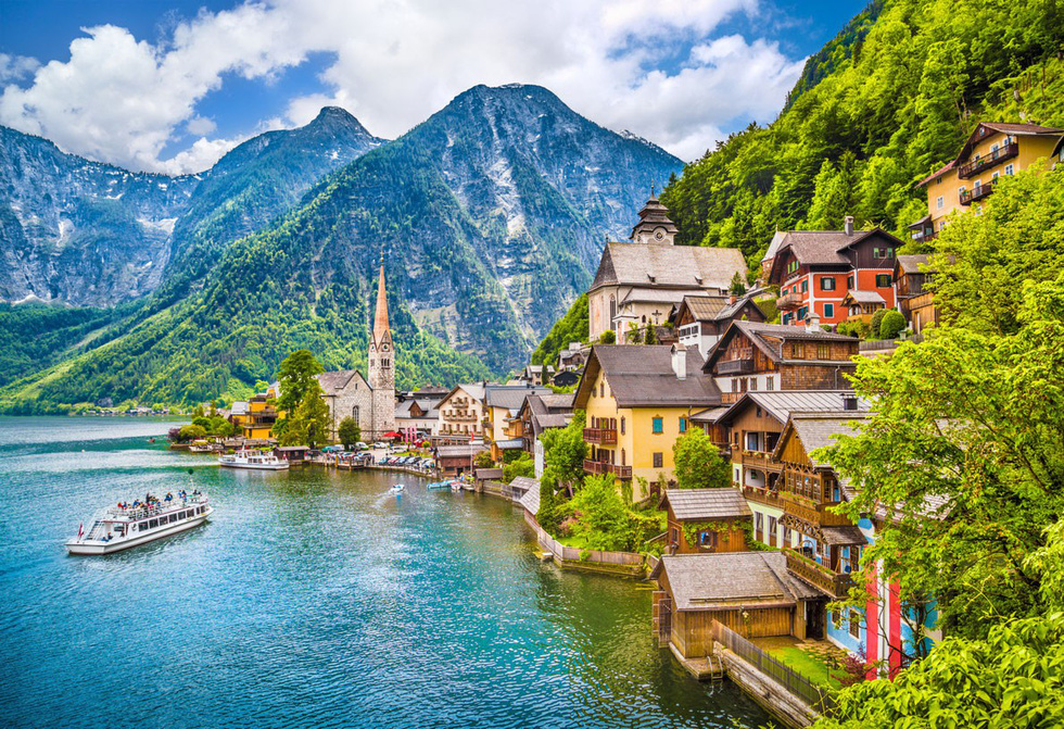 Nhũng ngôi làng ở châu Âu khiến khách ngẩn ngơ