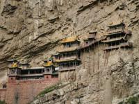 Khám phá ngôi chùa  trên vách núi 1500 tuổi ở Trung Quốc