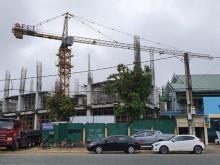 Nghệ An: Cần trục tháp thi công dự án của Công ty CP Tập đoàn Hoành Sơn đã hết hạn kiểm định?