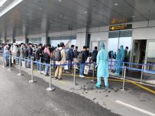 Chuyến bay chở 308 kỹ sư Hàn Quốc hạ cánh tại sân bay quốc tế Vân Đồn