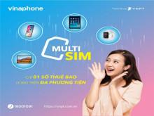 MultiSIM VinaPhone: một thuê bao dùng đồng thời trên nhiều thiết  bị