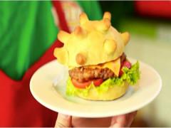 Chuyện chiếc bánh Buger hình... virus Corona được CNN, BBC ca ngợi