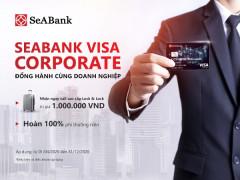 Nhận ngay vali sành điệu thương hiệu Lock&Lock khi mở thẻ SeABank Visa Corporate