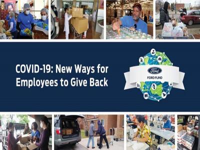 Nhân viên Ford Việt Nam cùng Quỹ Ford chung tay giúp đỡ cộng đồng đẩy lùi Covid-19
