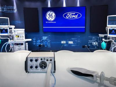 Ford hợp tác với GE Healthcare sản xuất 50.000 máy thở
