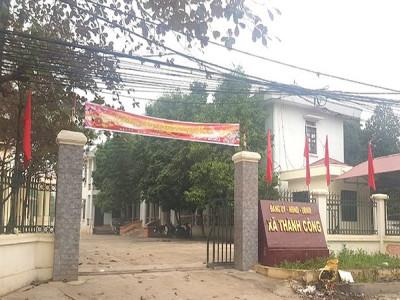 Quyền Chủ tịch xã Thành Công-Thị xã Phổ Yên: Tiếp tục bị tố thêm sai phạm