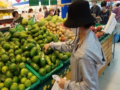 Đi chợ mùa dịch