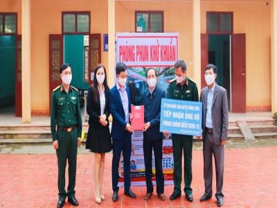 Thanh Hóa: Doanh nghiệp tích cực ủng hộ địa phương phòng, chống dịch Covid – 19